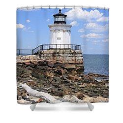 Bug Lighthouse Shower Curtain