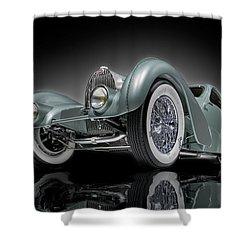 Bugatti Aerolithe Recreation Shower Curtain