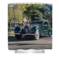 Bugatti T57 Ventoux Shower Curtain