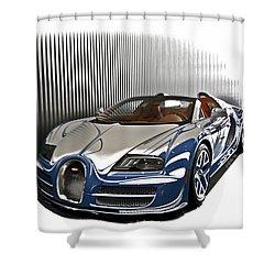 Bugatti V Shower Curtain
