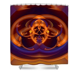 Shower Curtain featuring the digital art Bugged by Lynda Lehmann