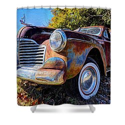 Buick Eight Shower Curtain