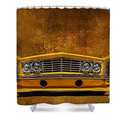 Buick Riviera Shower Curtain by Jim  Hatch
