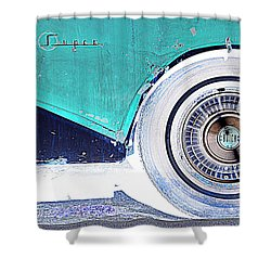 Buick Super Coupe Shower Curtain