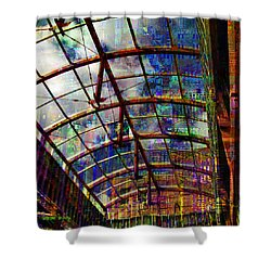 Building For The Future Shower Curtain