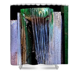 Building Supply Abstracts Shower Curtain