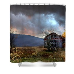 Built To Last Shower Curtain by Lori Deiter