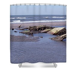 Bull Island 1 Shower Curtain