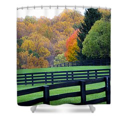 Bull Run Mountain 12 Shower Curtain