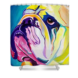 Bulldog - Bully Shower Curtain