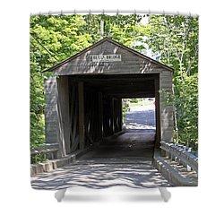 Bulls Bridge Shower Curtain
