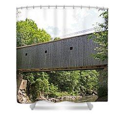 Bulls Bridge Side View Shower Curtain