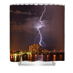 Bulls Eye 2 Shower Curtain
