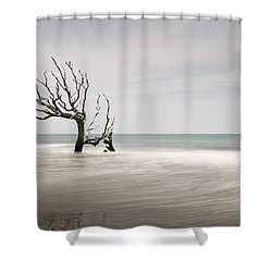 Bulls Island C-iv Shower Curtain