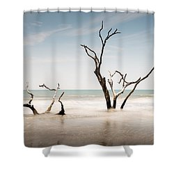 Bulls Island C-v Shower Curtain