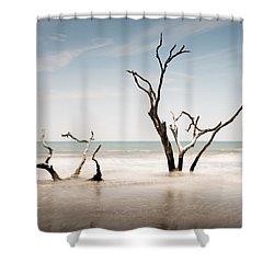 Bulls Island C-v Shower Curtain
