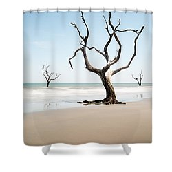 Bulls Island C-x Shower Curtain