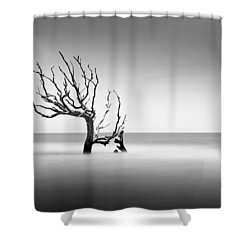 Boneyard Beach  Xiv Shower Curtain