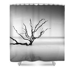 Boneyard Beach Vi Shower Curtain