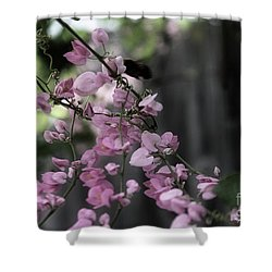 Shower Curtain featuring the photograph Bumble by Megan Dirsa-DuBois