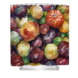 Bumper Crop Of Heirlooms Shower Curtain