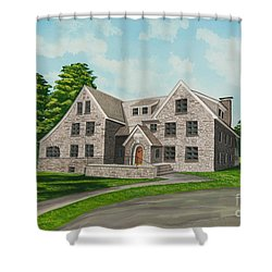 Bunch House Shower Curtain by Charlotte Blanchard
