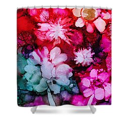 Bunch Of Flowers Shower Curtain