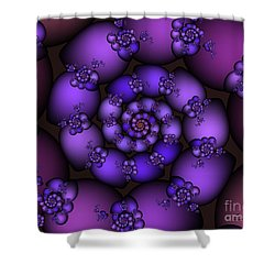 Bunch Of Grapes Shower Curtain by Jutta Maria Pusl