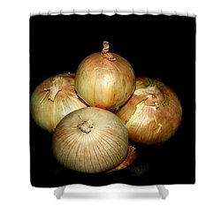 Bunch Of Onions Shower Curtain