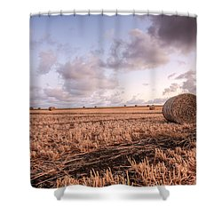 Bundy Hay Bales #2 Shower Curtain