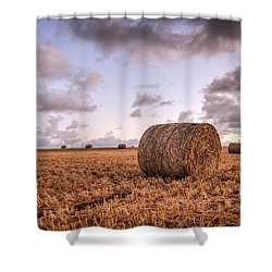 Bundy Hay Bales #3 Shower Curtain