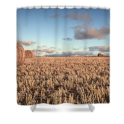 Bundy Hay Bales #6 Shower Curtain