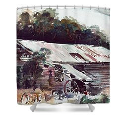 Buninyong Dairy Shower Curtain