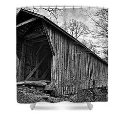 Bunker Hill Covered Bridge Shower Curtain