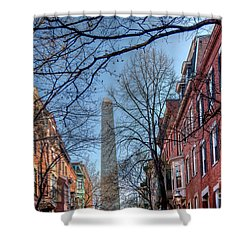 Bunker Hill Shower Curtain by Susan Cole Kelly