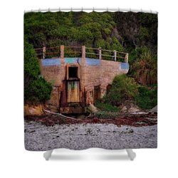 Bunker Shower Curtain