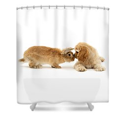 Bunny Nose Best Shower Curtain