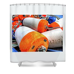Buoy 3719 Shower Curtain