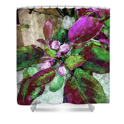 Buoyancy Of Nature Shower Curtain
