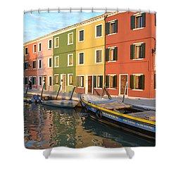 Burano Italy 1 Shower Curtain