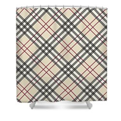 Burberry Pattern Shower Curtain
