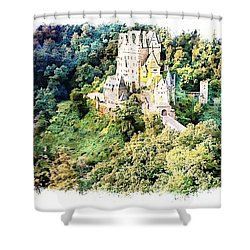 Burg Eltz - Moselle Shower Curtain