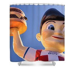 Burger Bob Shower Curtain