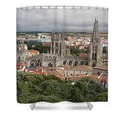 Burgos Shower Curtain by Christian Zesewitz