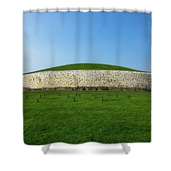 Burial Mound Shower Curtain