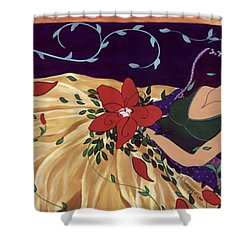 Buried Dreams Shower Curtain