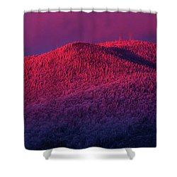 Burke Alpenglow Shower Curtain