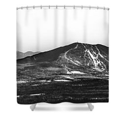 Burke And Cannon Wide Panoramic Shower Curtain