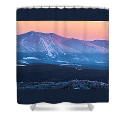 Burke To Moosilauke Shower Curtain