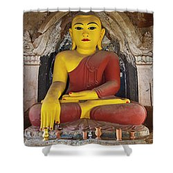 Burma_d1150 Shower Curtain by Craig Lovell